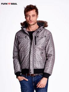 Modne kurtki męskie na zimę