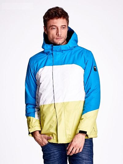 kolorowe kurtki męskie